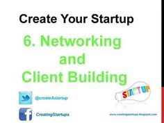 Create Your own Network and Build Solid Clients - Obtain and Develop a Website - Link Social Networking Pages