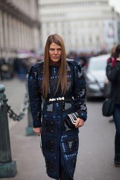 Anna Dello Russo during Paris Fashion Week, Fall 2013 Japan Fashion, Paris Fashion, Winter Fashion, Women's Fashion, Anna Dello Russo, Vogue Japan, Fashion Articles, Autumn Street Style, Fashion Details
