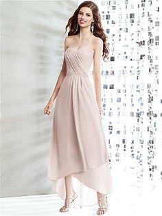 Social Bridesmaids Style 8139 http://www.dessy.com/dresses/bridesmaid/8139/ Colors: Blush, Rose, Palomino, Cameo