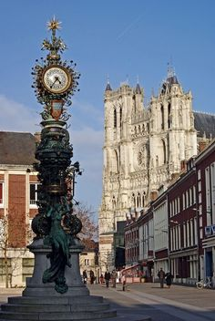 Dewailly clock,  Amiens, France Copyright: Laurent Girard