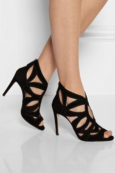 fc3bf687d9c4 Miu Miu - Cutout suede sandals