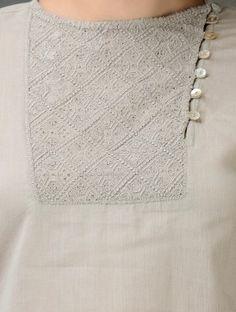 Salwar Neck Designs, Saree Blouse Neck Designs, Neck Designs For Suits, Churidar Designs, Kurta Neck Design, Neckline Designs, Dress Neck Designs, Kurta Designs Women, Stylish Dress Designs