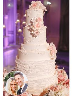 311 best Celebrity Wedding Cakes images on Pinterest   Celebrity     See Lauren Scruggs and Jason Kennedy s Wedding and Groom s Cakes  http   greatideas