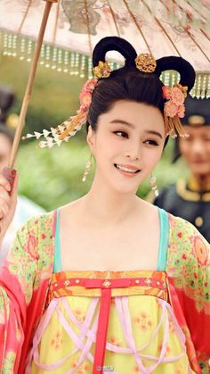 Hanfu: traditional Chinese costume. Fan Bingbing in 'Empress of China'.