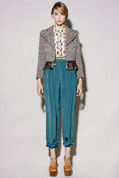 Vintage silk trousers: http://thriftedandmodern.com/vintage-80s-teal-silk-pants