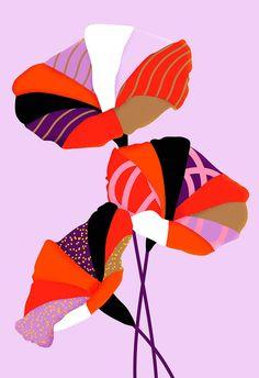 Karan Singh   shades of purple and hot red