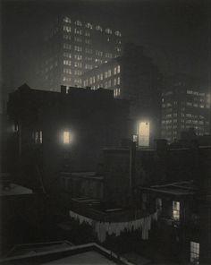 Alfred Stieglitz From the Back-Window – 291 1915 Platinum print