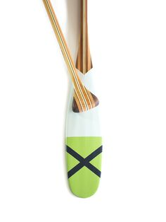 Clatsop - Sanborn Canoe Co. handcrafted & hand-painted wooden canoe paddle. { canoeing, art, artisan, paint, made in usa, Minnesota, design }