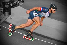 Joey Mantia inline speed skate. Inline Speed Skates, Dynamic Poses, Change My Life, Olympians, Tights, Sporty, The Incredibles, Running, Fitness
