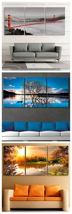 Beuaitful canvas art for your living room. Take a look!: