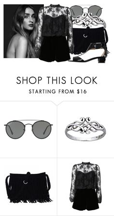 """""""Throw it away, forget yesterday. We'll make the great escape"""" by magical-muse ❤ liked on Polyvore featuring Ray-Ban, Topshop and Emporio Armani"""