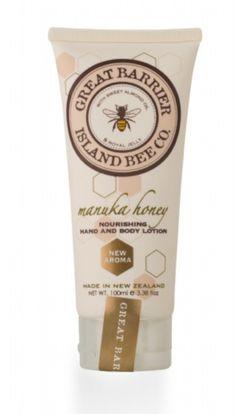 Vanilla Bee Nourishing Hand Body Lotion Tube 3.5 Ounces Great Barrier Island Bee - Mary B Decorative Art