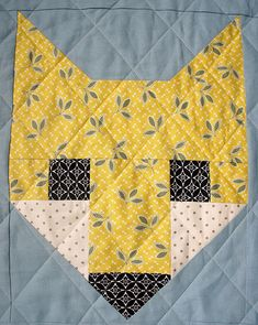 Fancy Fox Baby Quilt | by Cut To Pieces