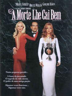 """Um filme de Robert Zemeckis com Isabella Rossellini, Meryl Streep : Uma famosa atriz egocêntrica (Meryl Streep) rouba de uma aspirante a escritora (Goldie Hawn) o noivo (Bruce Willis), um famoso cirurgião plástico. A noiva rejeitada se torna extremamente complexada e gorda, mas após 14 anos ela lança o livro """"Eternam..."""