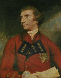 """Sir Jeffery Amherst, General in Chief of the British forces in North America in 1759 - """"Sir Jeffery Amherst (later Baron Amherst) led the army that forced the French to withdraw from Ticonderoga that year in 1759. In 1760, he led the three Anglo-American armies that converged on Montreal in September 1760, forcing the final surrender of New France. This 1766 print shows Amherst wearing the star of a knight of the Order of the Bath, an honour he was given in 1761."""""""
