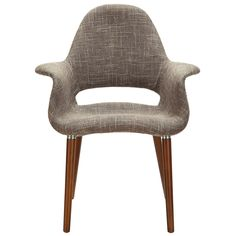 Never has their been such a fine diagonal dining chair as The Maegan Dining Chair in Taupe! This hip chairs are perfect for your small apartment dining table. $269