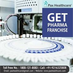Top Pharmaceutical Company Pax Healthcare offers you an opportunity to start your own business in pharmaceutical sector. Grab this amazing business opportunity.  Read More:
