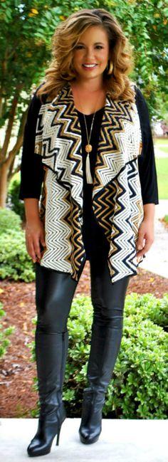 Perfectly Priscilla Boutique - Into The Night Vest, $40.00 (http://www.perfectlypriscilla.com/into-the-night-vest/)