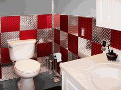 Diamond Plate Aluminum Wall Tiles