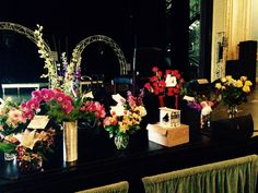 Lots of flowers arrived at the venue in St. Cloud. Thanks everyone!