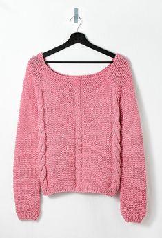 Modèle femme - Pull torsadé manches longues Pull Torsadé, Pullover, Dame, Couture, Crochet, Knitting, Sweaters, Stitch, Blog