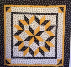 Hand Quilting Patterns, Patchwork Quilt Patterns, Hexagon Quilt, Pdf Sewing Patterns, Square Quilt, Quilting Projects, Quilting Designs, Star Quilts, Scrappy Quilts