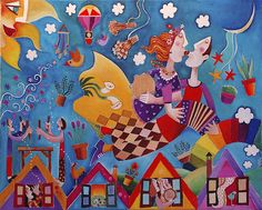 By #Leandro Lamas #artist #colorful