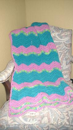 Baby Crib Blanket by KitandaKreations on Etsy