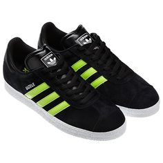 hot sale online 71dea 784d7 adidas Gazelle 2 Shoes Adidas Gazelle, Adidas Originals, Loafers, Neon,  Tennis,