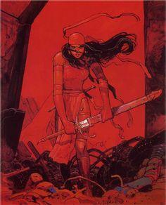 Elektra by Moebius.