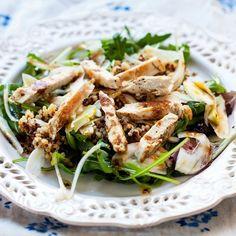 Salade de poulet grillé au fenouil