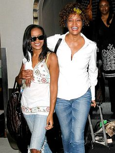 The Houston girls – Bobbi Kristina was then 16 – made a spirited arrival in mom's hometown of Newark, New ...