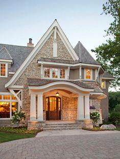 Beautiful stone exterior