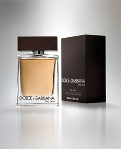 """Dolce & Gabbana """"The One"""" for men."""