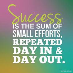 Consistency is KEY to anything you do that you want to be successful in. Most people get impatient and give up because they don't see results as fast as they expect. Remember, you didn't gain everything in a week or even a month. Small, consistent steps over time will assure you reach your goal as long as you DON'T give up!  Your small efforts include: 1. Taking your Skinny Fiber twice daily as instructed 2. Drink a minimum of 4-6 16-20oz bottles of water daily 3. Stop eating when you are no…