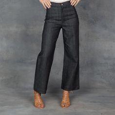 Apiece Apart : High Waist Crop Jean || Tamarind