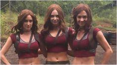 'Jumanji': Karen Gillan, Dwayne Johnson y Kevin Hart comparten divertidas imágenes del rodaje