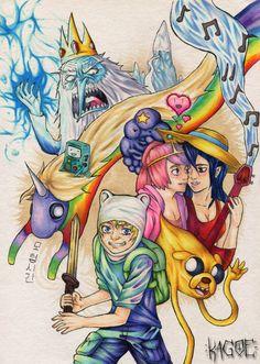 Adventure Time by Kagoe.deviantart.com on @deviantART