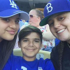 THINK BLUE: At the game With my little cousins watching @theofficialdodgers kick ass! Thanks again @aj_babyy90 you're the BEST! #dodgers #dodgerstadium #dodgersvsgiants by _muscle_