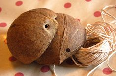 Paper Yak: How to make a Coconut Bra [Photo Heavy]