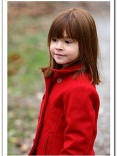 New+Cute+Kid+Hairstyle+Long+Straight+Brown+Capless+Wig100%+Human+Hair+about+12+Inches