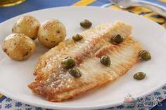 Receita de Saint peter com alcaparras em receitas de peixes, veja essa e outras receitas aqui!