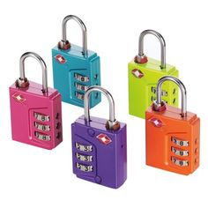 Travel Smart Travel Sentry Padlock - Combination - Steel Housing (tsn90ts)