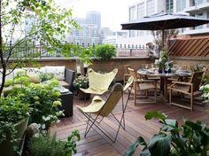 Um jardim para cuidar: Terraços inspiradores..