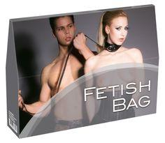 ORION Fetish Bag Confezione Regalo con 9 Differenti Giochi Erotici di Coppia a Sorpresa