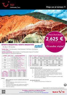 ¡Grandes viajes! Oferta Argentina: El Norte Argentino. Precio final desde 2.625€ ultimo minuto - http://zocotours.com/grandes-viajes-oferta-argentina-el-norte-argentino-precio-final-desde-2-625e-ultimo-minuto-6/