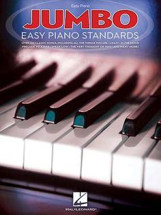 Hal Leonard - Various Composers: Jumbo Easy Piano Standards Songbook - Multi