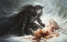 hades and persephone 2 by sandara.deviantart.com on @DeviantArt