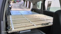[Renault Grand Scenic] Camper edition Caddy Maxi, Van Bed, Camper Beds, Monospace, Van Home, Off Road Camper, Camping Accessories, Campervan, Motorhome
