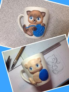 1 million+ Stunning Free Images to Use Anywhere Polymer Clay Figures, Fimo Clay, Polymer Clay Projects, Polymer Clay Jewelry, Ceramic Bisque, Porcelain Clay, Cold Porcelain, Emoji Coloring Pages, Clay Cup